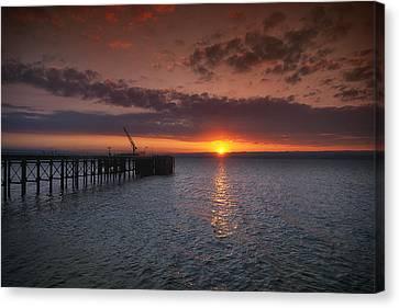Cockenzie Sunset Canvas Print