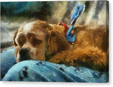 Cocker Spaniel Photo Art 07 Canvas Print by Thomas Woolworth