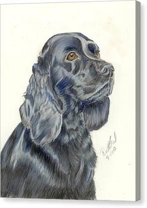 Cocker Spaniel Canvas Print by Ruth Seal