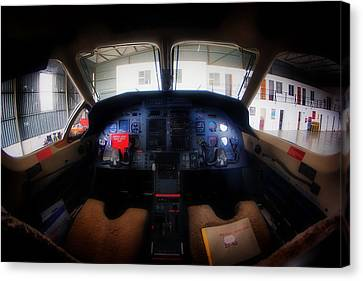 Cockpit II Canvas Print by Paul Job