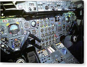 Copy Machine Canvas Print - Cockpit Of Concorde Sst - Supersonic by Vintage Images