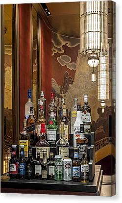 Bar Canvas Print - Cocktail Hour by Susan Candelario