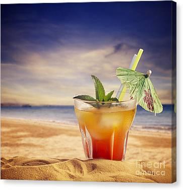 Cocktail  Canvas Print by Jelena Jovanovic