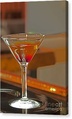 Cocktail Canvas Print by New  Orleans Food
