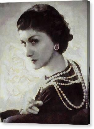 Coco Chanel Canvas Print