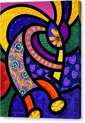 Coco Koko Pelli Canvas Print