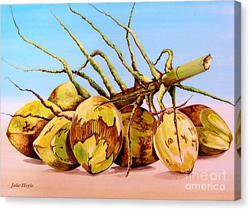 Coconut Beach Canvas Print