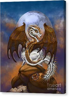 Coconut Dragon Canvas Print