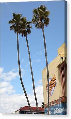 Coconut Grove At The Santa Cruz Beach Boardwalk California 5d23842 Canvas Print