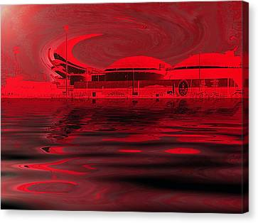 Code Red Canvas Print by Wendy J St Christopher