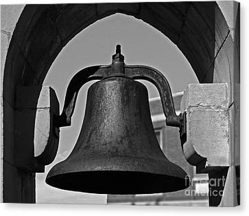 Coe College Victory Bell Canvas Print by University Icons