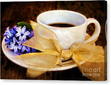 Coffee 4 One Canvas Print by Darren Fisher