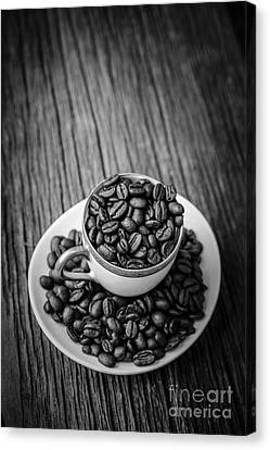 Coffee Beans Canvas Print by Edward Fielding