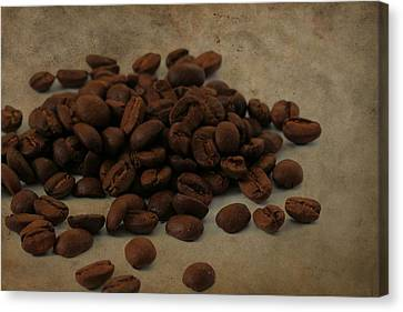 Coffee Beans In The Morning Canvas Print by Dan Sproul