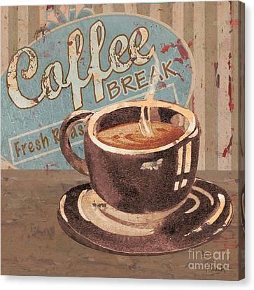 Coffee Brew Sign Iv Canvas Print