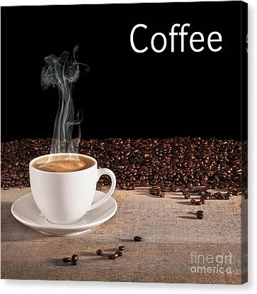 Coffee Concept Canvas Print by Colin and Linda McKie