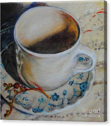 Coffee Cup 1 Canvas Print
