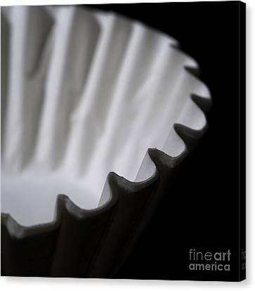 Coffee Filters Canvas Print by Art Whitton