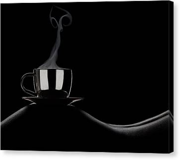 Coffee In Bed Canvas Print