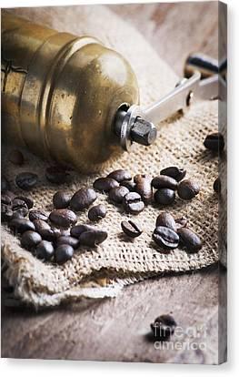 Coffee Mill Canvas Print by Jelena Jovanovic