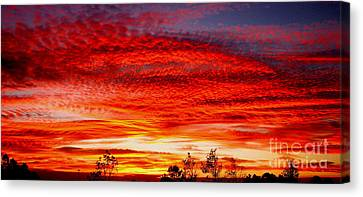 Coffee On Canvas Print by Greg Patzer
