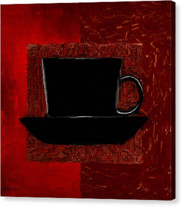 Coffee Passion Canvas Print by Lourry Legarde