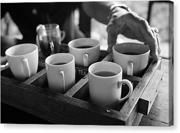 Coffee Tasting - Bali Canvas Print by Matthew Onheiber