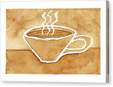 Coffee Canvas Print by Tricia Griffith