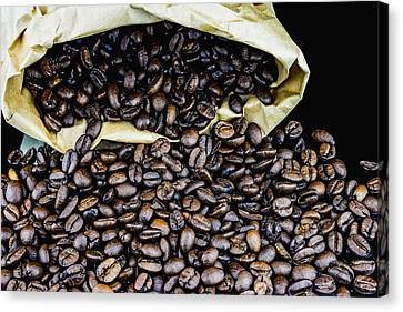 Coffee Unmilled  Canvas Print
