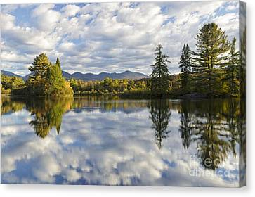 Coffin Pond - Sugar Hill New Hampshire Usa Canvas Print