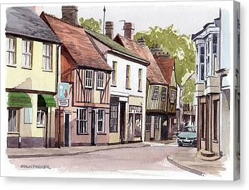 Coggeshall Canvas Print