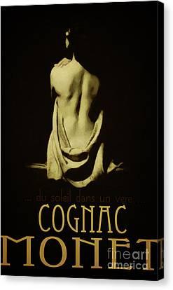 Cognac Monet Canvas Print by Cinema Photography