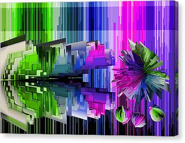Cognitive Dissonance 2 Canvas Print by Angelina Vick