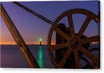Cogwheel Framing Canvas Print by Semmick Photo