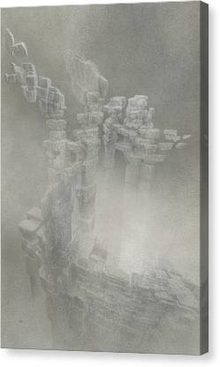 Coherence Canvas Print by Mark  Reep