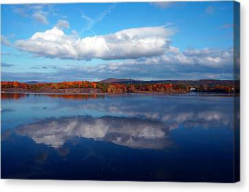 Cohoes Waterford Bridge Canvas Print by Brian Jones