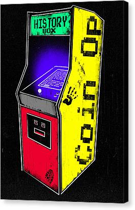 Coin Op - History Box Canvas Print by Filippo B