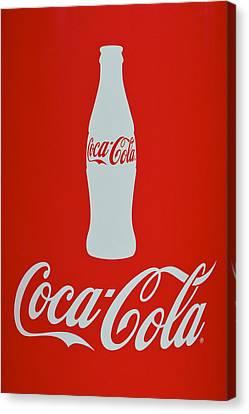 Coke Adds Life Canvas Print