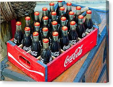 Coke Case Canvas Print