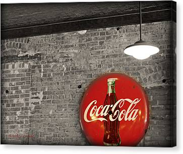 Coke Cola Sign Canvas Print