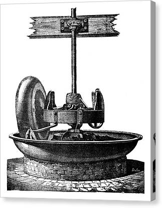 Coke-crushing Machine Canvas Print by Science Photo Library