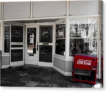 Canvas Print featuring the photograph Coke by Randy Sylvia