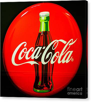 Coke Top Canvas Print by Tikvah's Hope