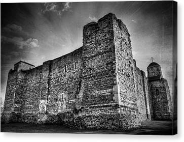 Colchester Castle Canvas Print by Svetlana Sewell