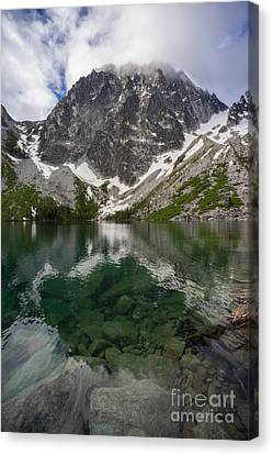 Alpine Canvas Print - Colchuck Lake Clarity by Mike Reid