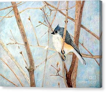 Cold And Lonely Canvas Print by Patty Poole