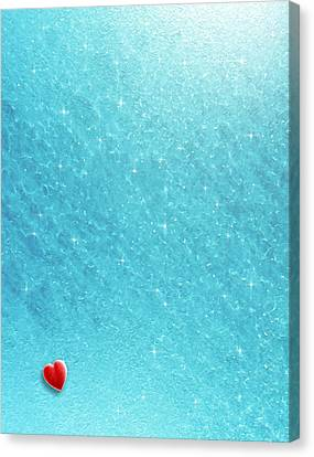 Cold Cold Heart Canvas Print by Cristophers Dream Artistry