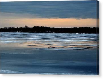 Cold Colour Wash 1 - Canada Canvas Print