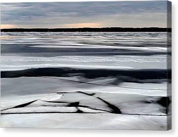 Cold Colour Wash 2 - Canada Canvas Print