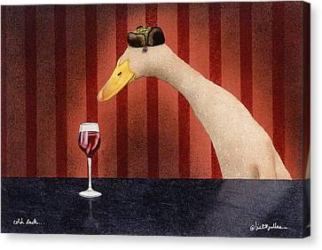 Cold Duck... Canvas Print by Will Bullas